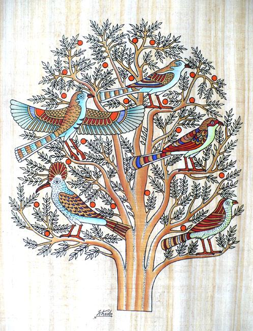 Etudes et symboles bibliques symbole des oiseaux dans la bible et l arbre de vie - Symbole de la vie ...
