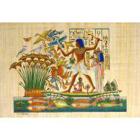 Papyrus Chasse Dans Les Marais - 30Ko