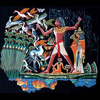 Papyrus Chasse Dans Les Marais - 62Ko
