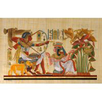 Papyrus Scène De Chasse - 30Ko
