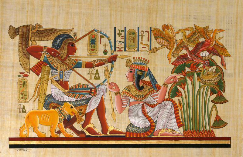 artisanat d 39 egypte nos produits papyrus papyrus 30 40 cm. Black Bedroom Furniture Sets. Home Design Ideas