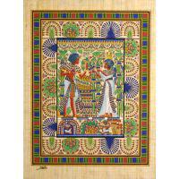 Papyrus Toutankhamon« Carte De Mariage» - 38Ko