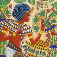 Zoom Sur Une Partie Du Papyrus - 48Ko