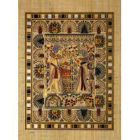 Papyrus Toutankhamon « Carte De Mariage » - 35Ko