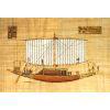 Papyrus Barque Solaire Du Trésor De Toutankhamon