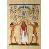 Papyrus Ramsès II Recevant La Vie (Ankh) De Seth Et Horus