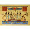 Papyrus Néfertari Et Les Déesses Sur La Barque