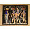 Papyrus Horemheb S'assure La Protection De 2 Dieux : Hathor + Horus