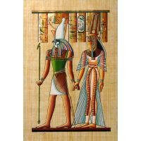 Papyrus Horus + Néfertari - 30Ko