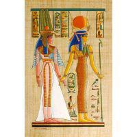 Papyrus Isis-Hathor + N�fertari