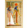 Papyrus Isis-Hathor + Néfertari