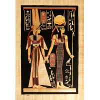 Papyrus Isis-Hathor + Néfertari - 34Ko
