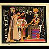 Papyrus Offrande De Néfertari A Isis-Hathor