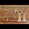 Papyrus Pesée De L'âme Inlay