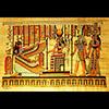 Papyrus Maât Et Hathor