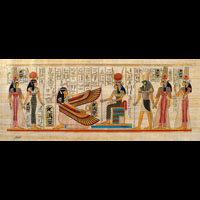Papyrus Isis Et Néfertari - 35Ko