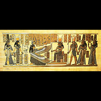Papyrus Isis Et Néfertari - 42Ko