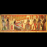 Papyrus Isis Et Néfertari - 41Ko