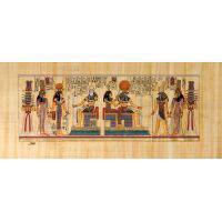 Papyrus Intronisation De Néfertari Devant Khépri