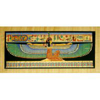 Papyrus Maât Aile Bleu