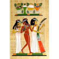 Papyrus Les 3 Musiciennes - 32Ko