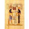 Papyrus Echange De Collier Menât Entre Ramsès III Et Hathor