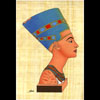 Papyrus Profil De Néfertiti