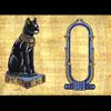 Papyrus Personalisable Bastet Noir Avec 1 Cartouche