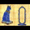 Papyrus Personalisable Bastet Bleu Avec 1 Cartouche