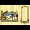 Papyrus Personalisable Oeil D'Horus CG Avec 1 Cartouche