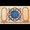 Papyrus Personalisable  Zodiaque Denderah Avec 2 Cartouches