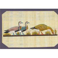 Carte Papyrus :  Les Oies De Mêidoum - 24Ko