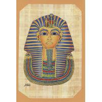 Carte Papyrus : Le Masque D'Or De Toutankhamon - 27Ko