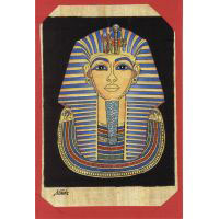 Carte Papyrus : Le Masque D'Or  De Toutankhamon - 30 Ko