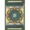 Carte Papyrus : Plafond Astronomique Dendérah Complet Turquoise
