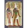 Carte Papyrus : Horus + Néfertari