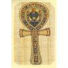 Carte Papyrus : Clé Ankh