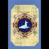 Carte Papyrus :  Le Capricorne