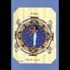 Carte Papyrus :  La Vierge