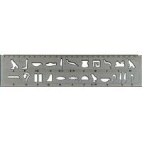 Régle Hiéroglyphique - 21Ko