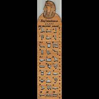 Régle Hiéroglyphique - 28Ko