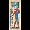 Papyrus  Dieu Anubis