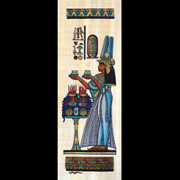 Papyrus  Offrande Néfertari - 27Ko