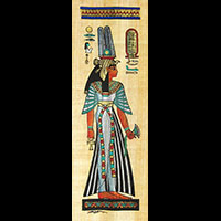 Papyrus  Offrande Néfertari - 37Ko