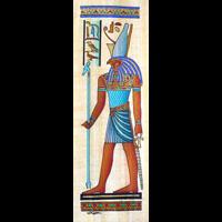 Papyrus  Dieu Horus - 28Ko