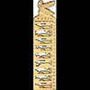 Règle Pochoir Dieux Pharaoniques