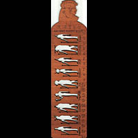 Règle Pochoir Dieux Pharaoniques - 27Ko