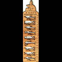 Règle Pochoir Dieux Pharaoniques - 29Ko