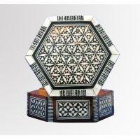 Marqueterie Hexagonale   6 Cotés - 34Ko