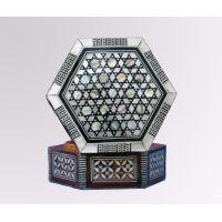 Marqueterie Hexagonale   6 Cotés - 26Ko